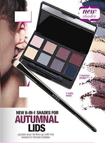 Avon True Color 8 en 1 paleta sombra de ojos de Nudes ...