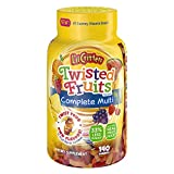 L'il Critters Twisted Fruits Flavors Complete Multivitamin, 140 Count (Packaging May Vary) Review