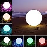 Waterproof LED Ball Light Lamp Multi Color Remote LED Lawn Lights Pool & Decor (12)