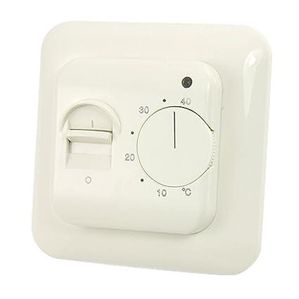 Interruptor de encendido apagado 5 – 40 centígrados Calefacción Habitación termostato controlador de temperatura