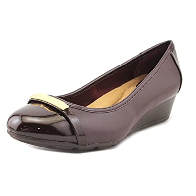 Giani Bernini Women's Ambir Wedge Heels Oxblood Size 6.0