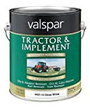 Valspar 4431-14 Gloss White Tractor and Implement Paint - 1 Gallon