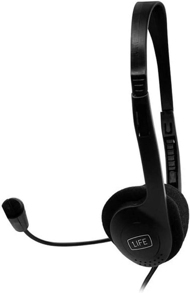 1Life Auriculares SoundOne Micr/ófono Ultra Ligero