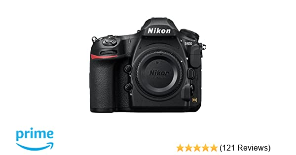 Amazon.com : Nikon D850 FX-Format Digital SLR Camera Body : Camera ...