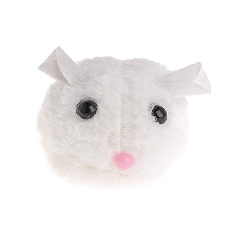 Zchenchen Juguete de Felpa para Gato con Forma de Gato, Juguete Interactivo para Gato,