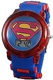 Best Superman Kid Watches - Superman Boy's Light up Blue Digital Watch Review