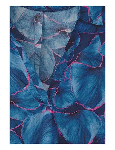 Cecil Blue Femme Deep 30128 Bleu Blouse qpwYnR0Z