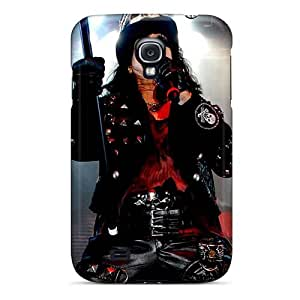 TammyCullen Samsung Galaxy S4 High Quality Hard Cell-phone Cases Allow Personal Design Fashion Alice Cooper Band Image [ZXi13926pWwC]