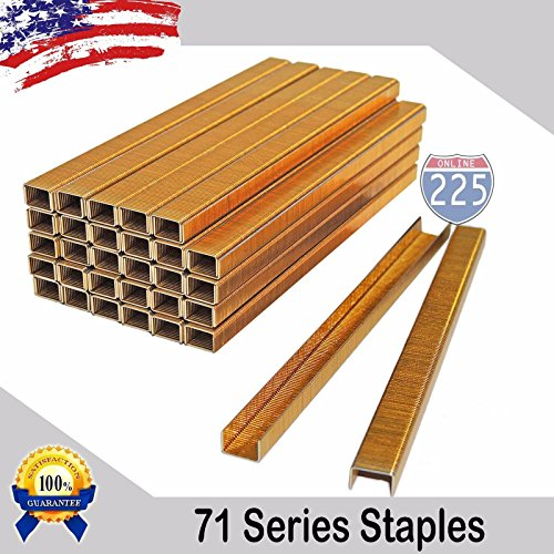 Grill Parts Galvanized Steel Wire (225FWY | 71 SERIES UPHOLSTERY STAPLES - Length (1/8