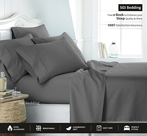 EGYPTIAN COTTON QUEEN SHEET SET product image