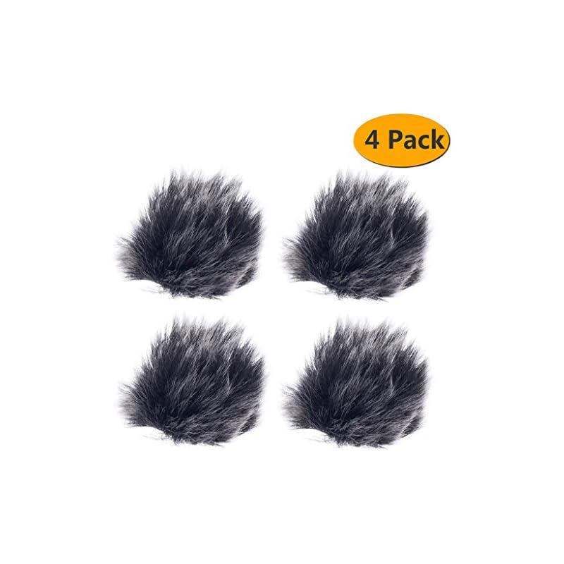 Furry Outdoor Microphone Windscreen Wind