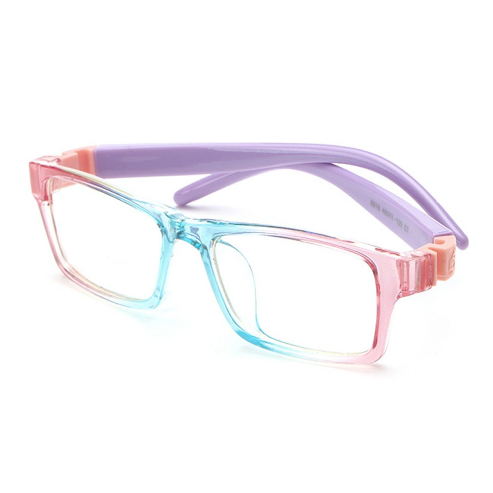 Fantia Children's Flexible Eyeglass Frames Kids Eyewear (7#)