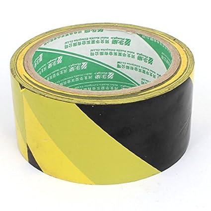 DealMux tráfego automóvel Ônibus 48 milímetros Largo DIY ornamento Segurança Reflective Marcação Tape Preto Laranja 25M