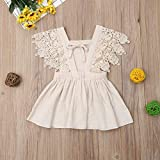 Toddler Baby Girl Infant Comfy Cotton Linen Lace