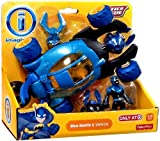 (US) Imaginext, Justice League, Exclusive Blue Beetle & Vehicle