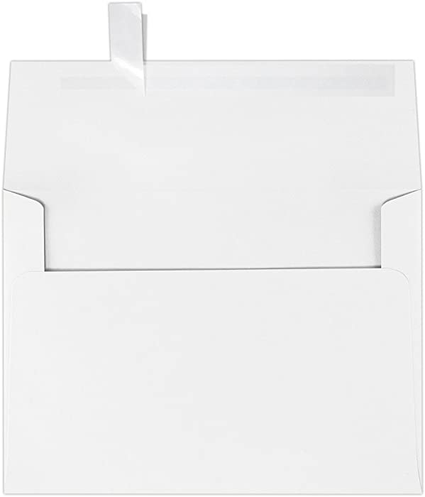 Top 10 Amazonbasics A7 Invitation Envelope Peel  Seal Whit