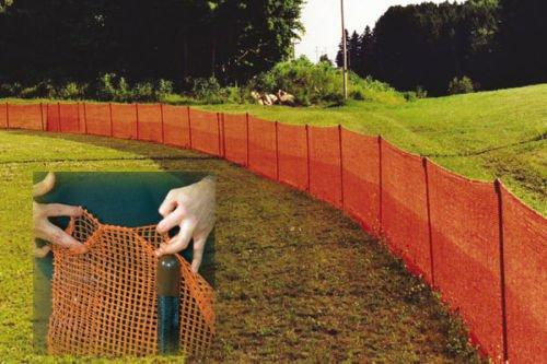 Ez Pocket Net Garden, Deer, Snow, Outfield Fence 4x100