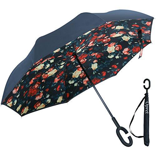 Inverted Umbrella Opret Windproof C Shaped