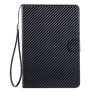 xiao Black Hand-Held Super Slim Auto-Sleep PU Leather Case for iPad Mini/iPad mini2 , Black
