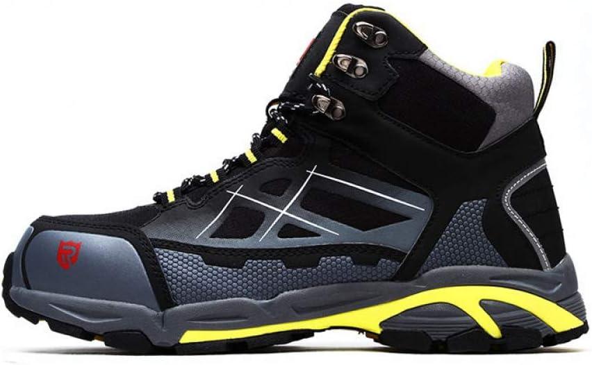 Botas Seguridad Puntera Acero Trabajo Deportivos Botas Comodas Zapatillas Seguridad S3/SRC,B-EU42/UK8: Amazon.es: Hogar