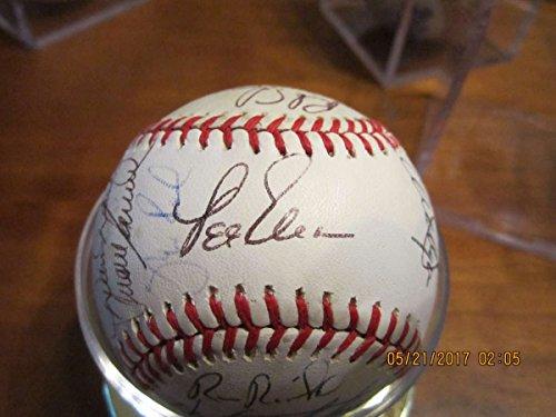 Mike Schmidt Signed Baseball - 1988 Philadelphia Phillies Signed Baseball 26 sigs Mike Schmidt