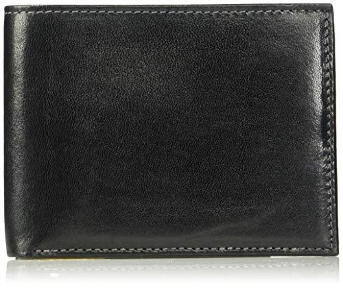 (Trafalgar Men's Cortina Wallet / Slimfold,Black,One Size)