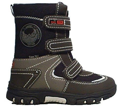 Indigo Slam TEX Stiefel Schneeboots grau schwarz