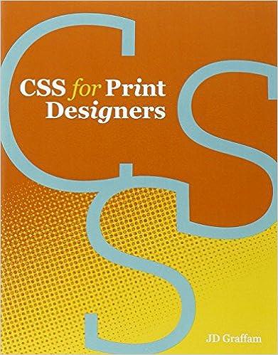 Css for print designers j d graffam 9780321765888 amazon books fandeluxe Gallery