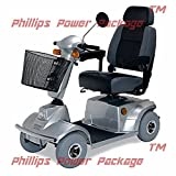 CTM - HS-580 - Mid-Range Scooter - 4-Wheel - Silver - PHILLIPS POWER PACKAGE TM - TO $500 VALUE