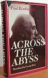 Across the Abyss, Paul Roubiczek, 0521242886