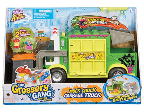 Wonderful Grossery Gang Muck Chuck Garbage Truck: Amazon.co.uk: Toys & Games ES73