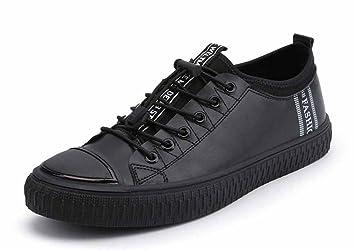 295a713166eb80 GLSHI Formateurs Mode Homme, Chaussures De Planche À roulettes Printemps  Nouvelles Chaussures Plates Décontractées Baskets
