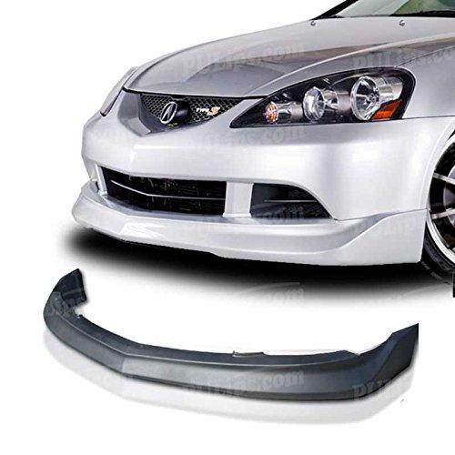 Bumper Rsx Acura (PULips(ACRX05MUFAD) M-Spec Style Front Bumper Lip For Acura RSX 2005-2006)