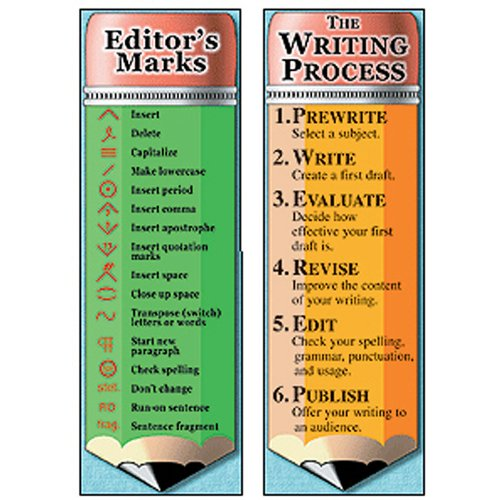 MCDONALD PUBLISHING THE WRITING PROCESS AND EDITORS (Set of 24) by McDonald Publishing