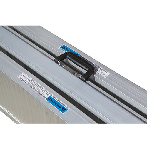 Aluminum Wheelchair Threshold Ramp With Surface Carrying Handle