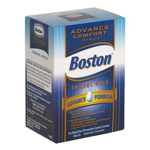 Formula Travel Pack (Boston Advance Comfort Formula Travel Pack for Contact Lenses 1 EA (PACK OF 2))