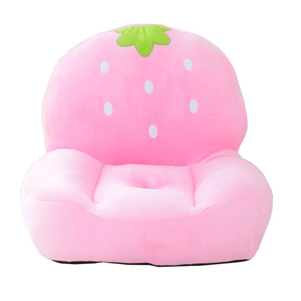 w.una Kids Mini Lounger Sofa,Bean Bag Chair,Novelty Gift PP Cotton Cute Cartoon Washable 21x17 Birthday Gifts for Boys Girls