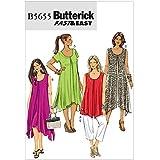 Butterick Patterns B5655 Patrons de top/robe/pantalon pour femme Tailles 46/48/50/52 (en anglais)