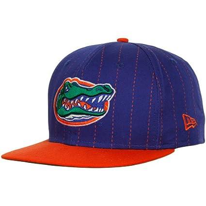 hot sale online c4ebb 18576 Amazon.com   NCAA New Era Florida Gators Royal Blue-Orange College Pin 9FIFTY  Snapback Adjustable Hat   Sports Fan Baseball Caps   Sports   Outdoors