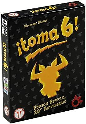 Think Fun - ¡Toma 6!, Juego de Mesa, edición 20 Aniversario (A0029 ...