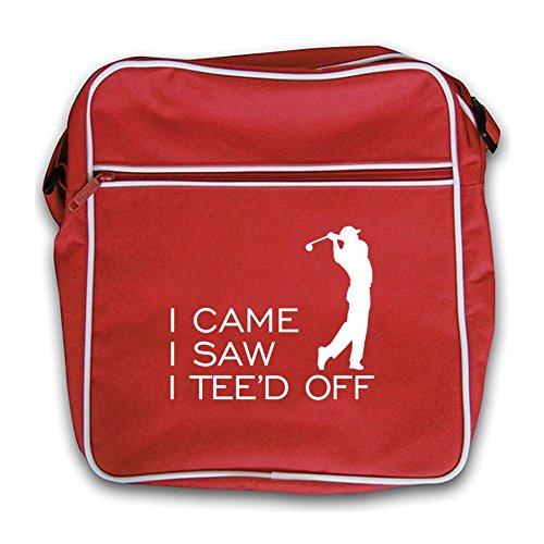 Red Saw I I I Flight Retro Black Tee'd Came Off Bag BB4xqEwvg