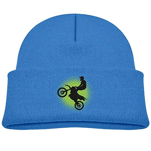 - Qiop nee Beanie Hat Skull Cap Wool Fun Motocross Biker Baby Soft Boys Girls