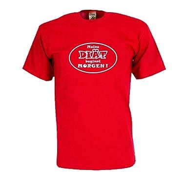 Meine Diat Beginnt Morgen Witzig Bedrucktes T Shirt Lustiges