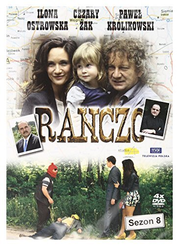 Ranczo Sezon 8 New Released [PL DVD] [No English version] by Ilona Ostrowska (New Released Dvd Movies)