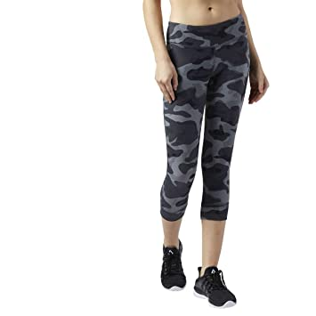 great quality vast selection authentic Reebok Lux 3/4 tight-camo Tights, Women, Women, Lux 3/4 ...