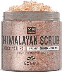 M3 Naturals Himalayan Salt Scrub Infused...