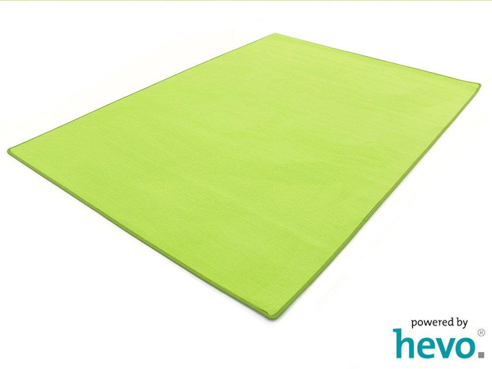 Romeo grün HEVO® Teppich   Kinderteppich   Spielteppich 200x400 cm