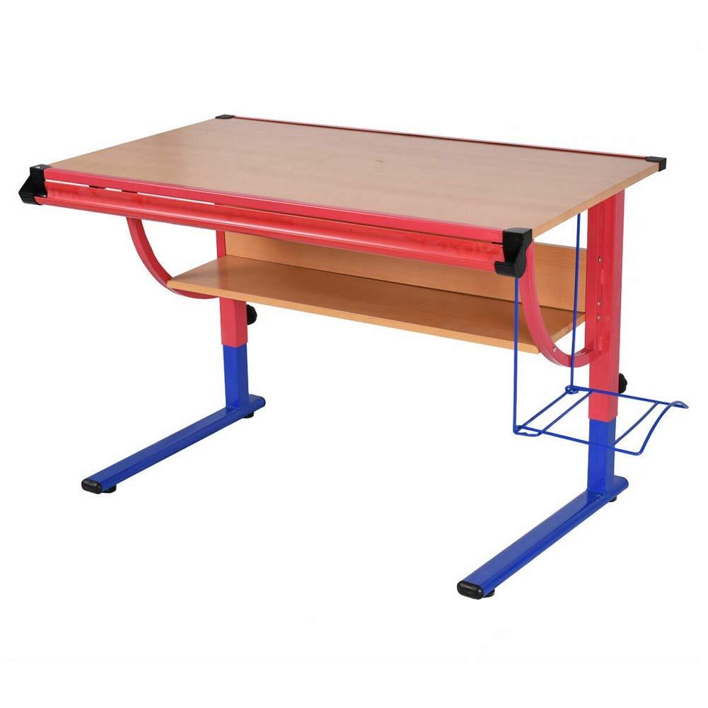 LungMongKol Shop Adjustable Drafting Table Workstation Drawing Desk Art and Craft Hobby Studio New