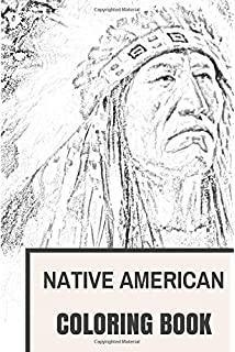 Native American Adult Coloring Book: Coloring Book for Adults ...