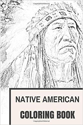 Native American Coloring Book Native Adult Coloring Books Elegant ...